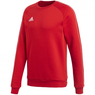 Bluza trening adidas CORE 18 SWEAT TOP red CV3961 adidas teamwear