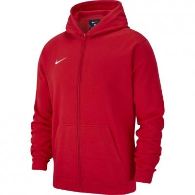 Bluza trening Bluza Hanorac Nike Team Club 19 Full-Zip 's , red AJ1458 657 copil