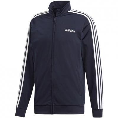 Bluza trening Adidas Essentials 3 Stripes Tricot Track Top / navy blue DU0445