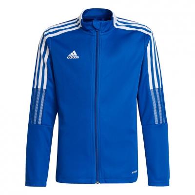 Bluza trening for adidas Tiro 21 Track blue GM7315 copil adidas teamwear