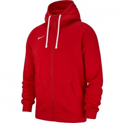 Bluza trening Hanorac Men's Nike FZ FLC TM Club 19 red AJ1313 657