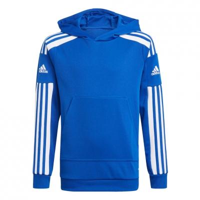 Bluza trening Hanorac for adidas Squadra 21 Youth blue GP6434 copil adidas teamwear