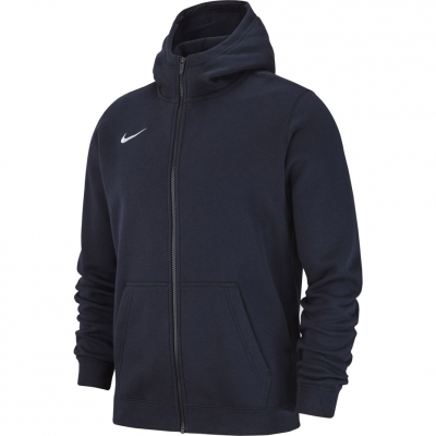 Bluza trening Hanorac for boy Nike FZ FLC TM Club 19 navy blue AJ1458 451 copil