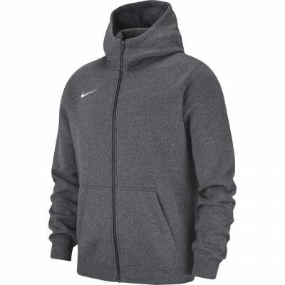Bluza trening Hanorac for boy Nike FZ FLC TM Club 19 gray AJ1458 071 copil