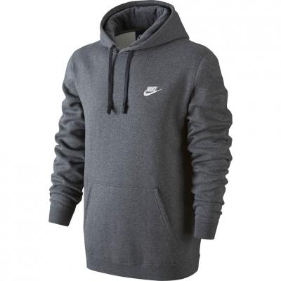 Bluza trening Hanorac Nike M NSW PO FLC Club gray 804346 071