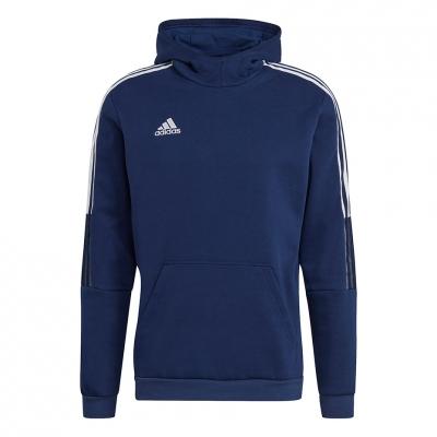 Bluza trening Hanorac Men's adidas Tiro 21 Sweat navy blue GH4464 adidas teamwear