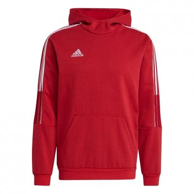 Bluza trening Hanorac Men's  adidas Tiro 21 Sweat red GM7353 adidas teamwear