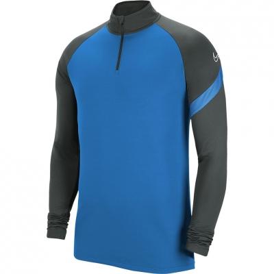 Bluza trening Nike Dry Academy Dril Top blue grey BV6916 406 barbat