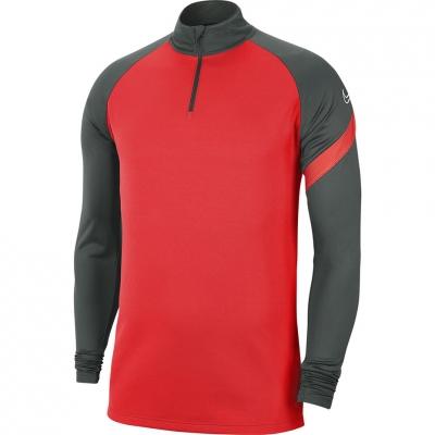 Bluza trening Nike Dry Academy Dril Top men's red-gray BV6916 635