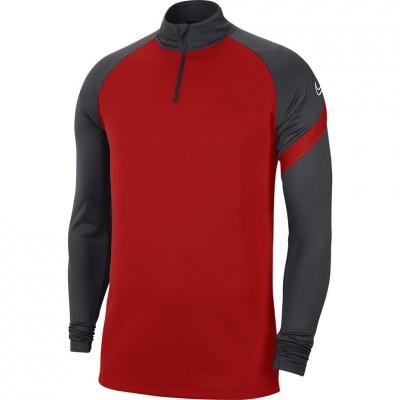 Bluza trening Nike Dry Academy Dril Top-red-grey BV6916 657 barbat