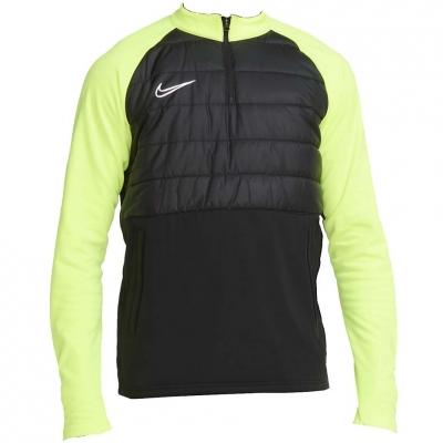 Bluza trening Men's Nike Dry Pad Acd Dril Top Ww black and green BQ7473 013
