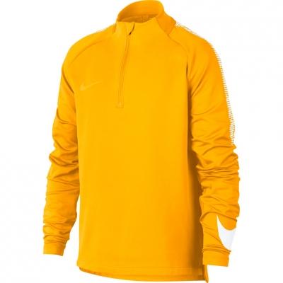 Bluza trening NIKE DRY SQUAD DRIL JR yellow 859292 845