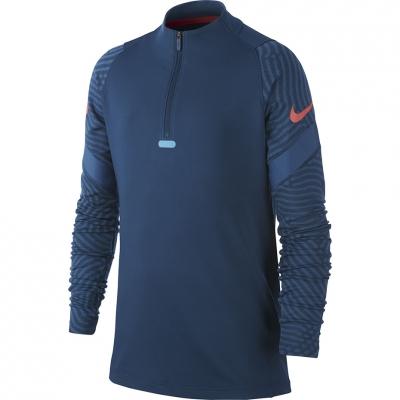 Bluza trening Nike Dry Strike Dril Top NG Blue BV9459 432 copil