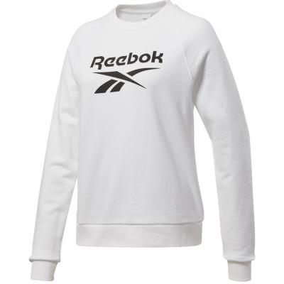 Bluza trening 's Reebok Vector Crew FT white FT6224 dama