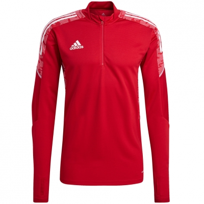 Bluza trening Men's  adidas Condivo 21 Training Top Primeblue red GH7155 adidas teamwear