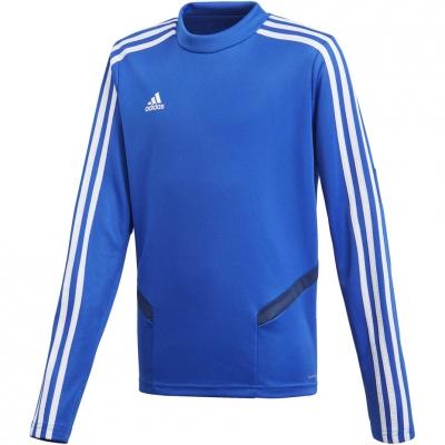 Bluza trening adidas Tiro 19 Training Top blue JR DT5279 adidas teamwear