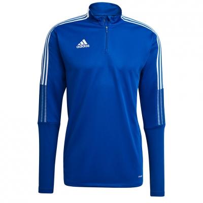 Bluza trening Men's  adidas Tiro 21 Training Top blue GH7302 adidas teamwear