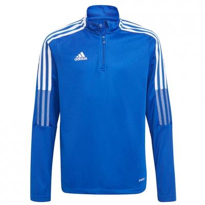 Bluza trening adidas Tiro 21 Training Top Youth blue for GM7322 copil adidas teamwear