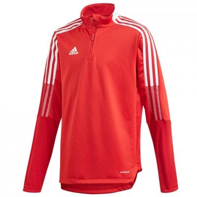 Bluza trening Adidas Tiro 21 Training Top Youth for red GM7323 copil adidas teamwear