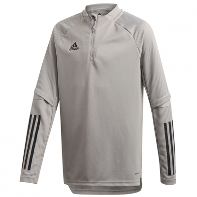 Bluza trening for adidas Condivo 20 Training Top Youth gray FS7122 copil adidas teamwear