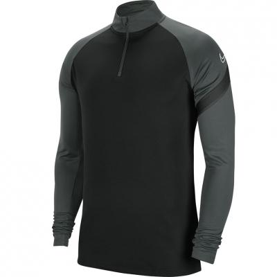 Bluza męska Nike Dry Academy Dril Top czarno-szara BV6916 010