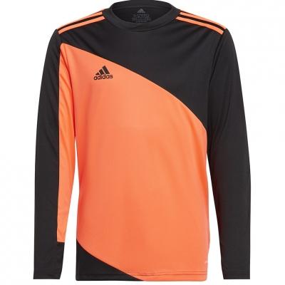 Adidas Squadra Portar Jersey 21 Portar Jersey Youth orange-black GK9806 copil Adidas