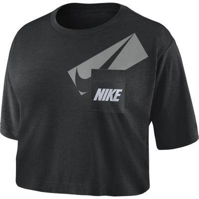Nike Dri-FIT Graphic Training Crop Top dama