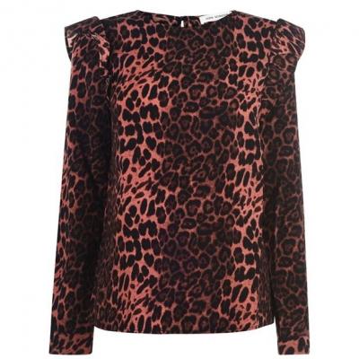 Sofie Schnoor Sofie Schnoor Leopard Print Blouse