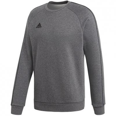 Bluza trening adidas Core 18 Sweat Top gray CV3960 adidas teamwear