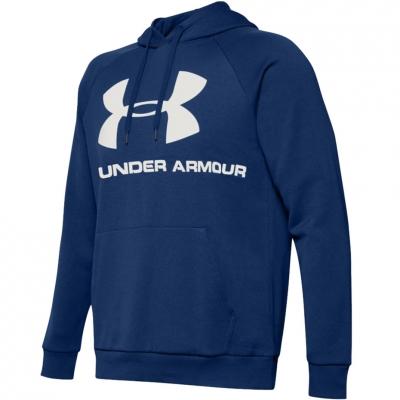 Bluza Hanorac Men's Under Armor Rival Logo blue 1345628-449 Under Armour