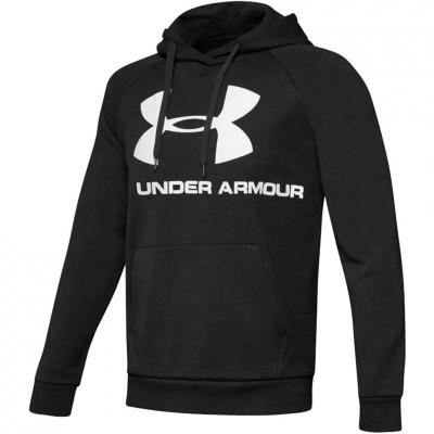 Bluza Hanorac Men's Under Armor Rival Logo black 1345628-001 Under Armour