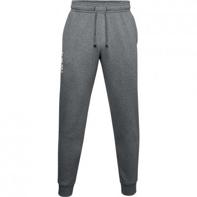Bluza Pantalon Under Armor Men's Rival 3Logo Jogger dark gray 1357131 012 Under Armour