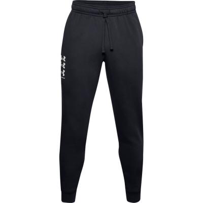 Bluza Pantalon Men's Under Armor Rival 3Logo Jogger black 1357131 001 Under Armour