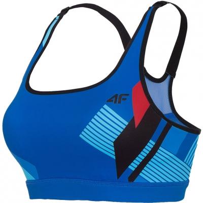 Sports bra 4F blue H4L20 STAD007 20A
