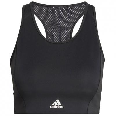 Adidas 's sports bra 3- Stripes Sport Bra Top black GL3806 dama Adidas