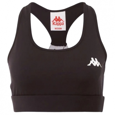 's sports bra Kappa EBBA black 305040 005 dama