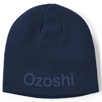 Ozoshi Hiroto Classic Beanie navy blue OWH20CB001