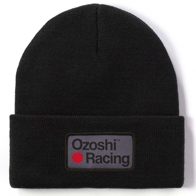 Ozsohi Heiko Cuffed Beanie black OWH20CFB004 Ozoshi