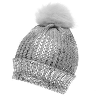 Crafted Essentials Foil Pompom Hat copil fetita