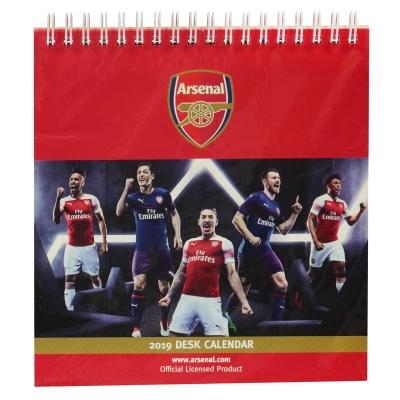 Minge Fotbal Grange Desk Calendar 2019