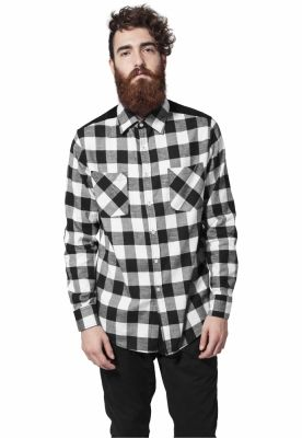 Camasa Cord Patched Checked Flanell Urban Classics