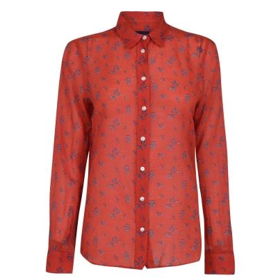 Camasa Gant Voile Cotton Silk