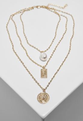 Layering Pearl Basic Necklace Urban Classics