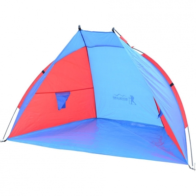 Tent beach Sun 200x100x105 red-blue Royokamp 1015668