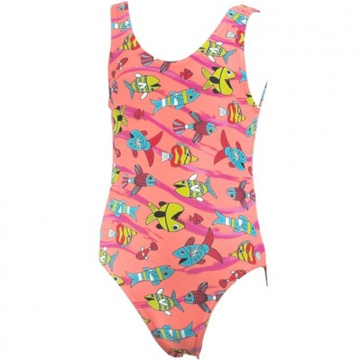 Costum inot for Aqua-Speed Ala pink col.75 copil