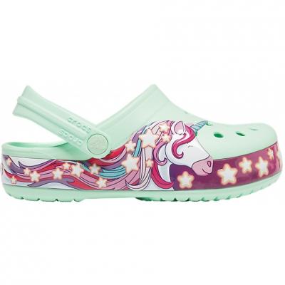 Crocs for FunLab Unicorn Band Cg K green 206270 3TI copil