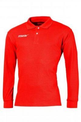 Bluza polo maneca lunga Rosso Max Sport pentru timp liber