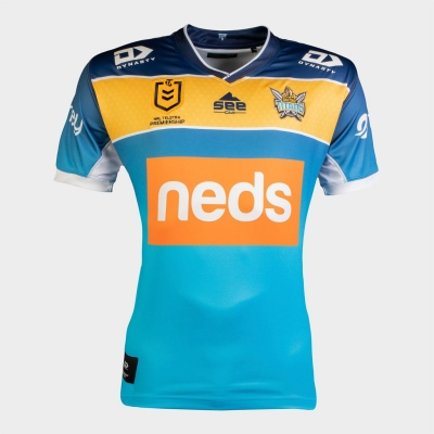 Dynasty Sport Sport Gold Coast Titans Home Jersey barbat