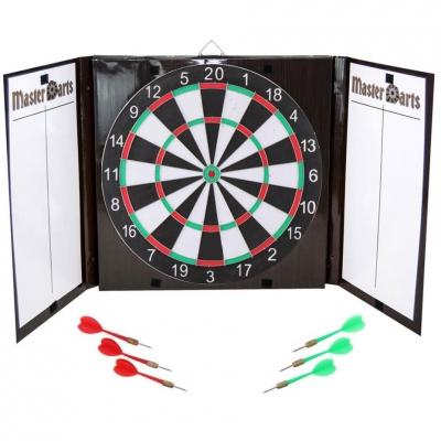 Enero 42 cm cardboard dart board 6 darts 2140094