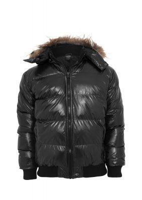 Hooded Bubble Fur Blouson Urban Classics